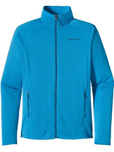 Patagonia M's R1 Full Zip Jacket Electron Blue